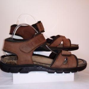 ecco Comos 45 Nubuck Sandals